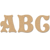"13.5"" Letters - Storybook Style (MDF)"