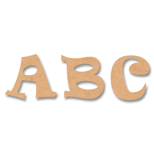 ravie style wooden mdf letters