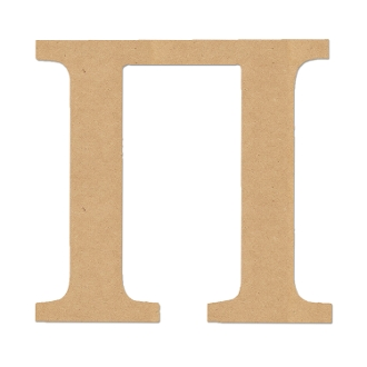 Greek Letter Pi