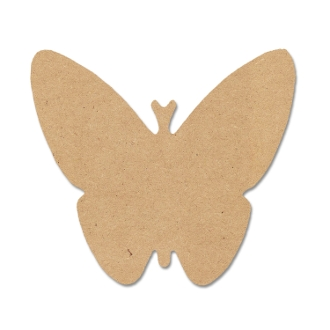 Shapes - Butterfly (MDF) 9.2X8.6
